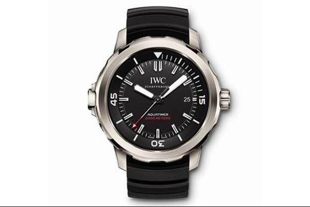 IWC Schaffhausen présente sa nouvelle montre de plongée