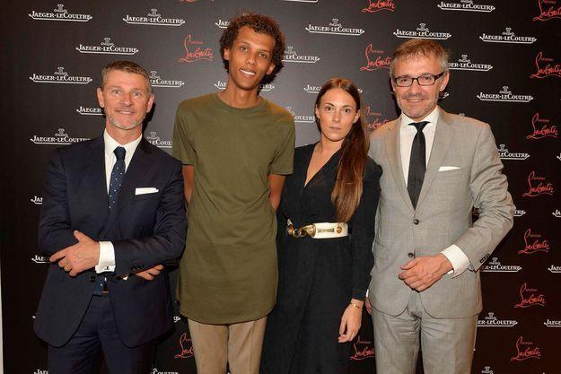 Franck Robinet, Stromae, Coralie Barbier et Laurent Vinay@Charly Hel