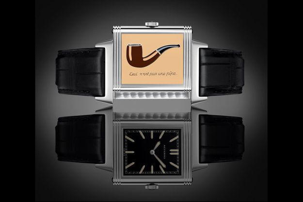 La montre Reverso de Jaeger-LeCoultre.