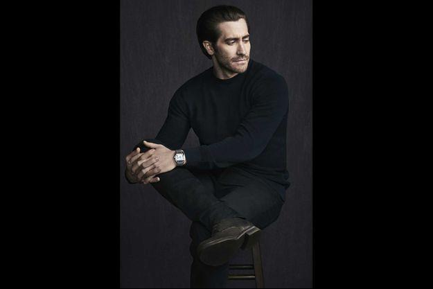 Jake Gyllenhaal, ambassadeur de la montre Santos de Cartier