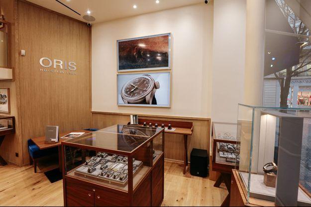 L'horloger Oris ouvre sa première boutique en France