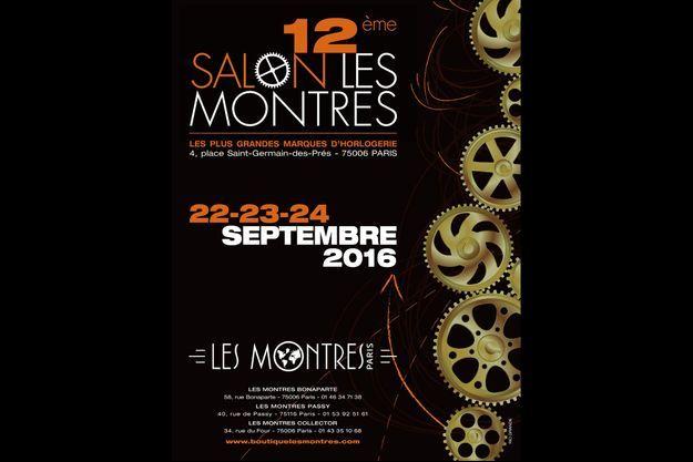 """Le salon """"Les Montres"""" ouvre ses portes à Paris du 22 au 24 septembre 2016."""