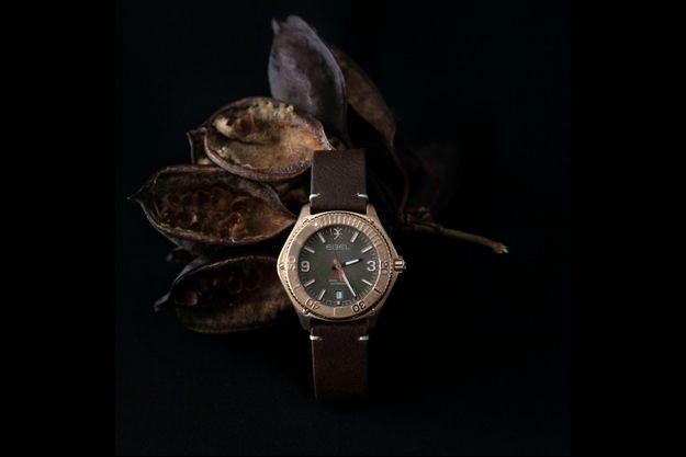 La montre Ebel Discovery Bronze