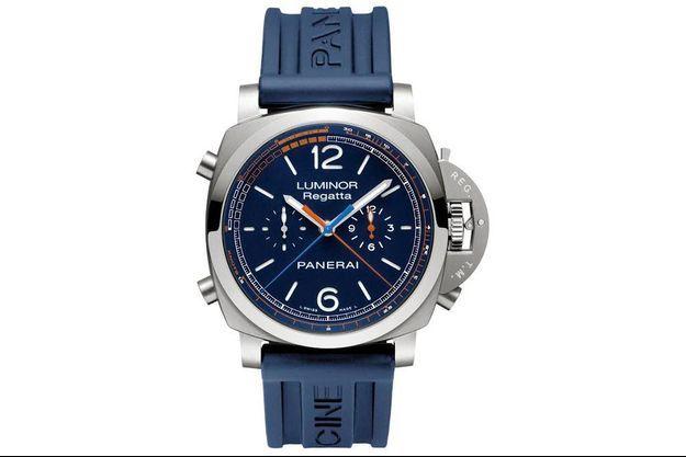 Panerai a créé la Luminor Transat Classique Regatta, un chronographe exclusif produit en édition spéciale de 150 exemplaires