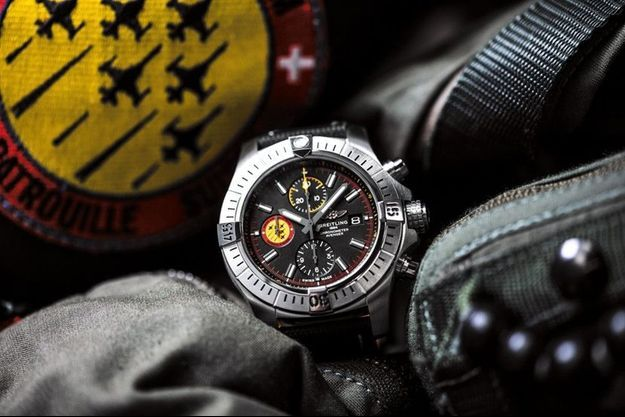 Breitling a créé l'Avenger Swiss Air Force Team Limited Edition