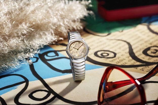 La Sport Classic Lady Beige est une montre à la fois sobre et chic, résolument féminine