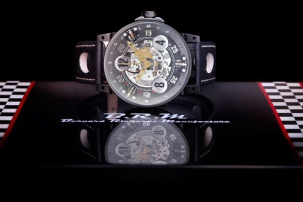 BRM Chronographes en collaboration avec la DS Peugeot.