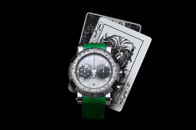 "Le chronographe ""The Joker"""