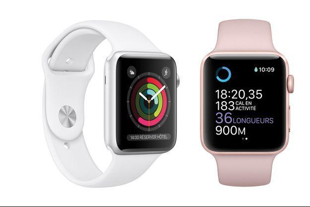 Louis Pion commercialise les montres Apple Watch Series 1 et 2