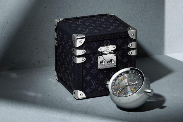 La malle pendulette de Louis Vuitton.