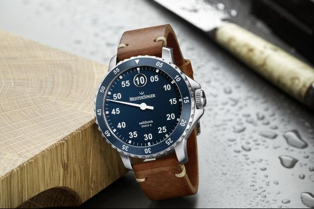 MeisterSinger dévoile sa montre sportive, étanche jusqu'à 200 mètres