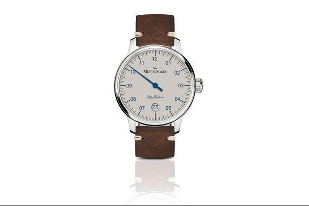 MeisterSinger, spécialiste des montres à mono-aiguille, lance la City Edition 2018.