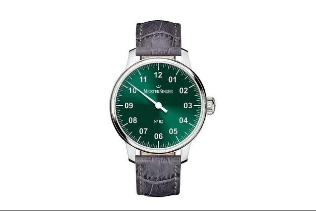 Le vert Rensing pour les montres MeisterSinger