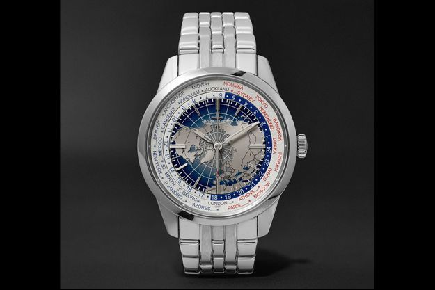 Geophysic Universal Time 41mm Stainless Steel Watch