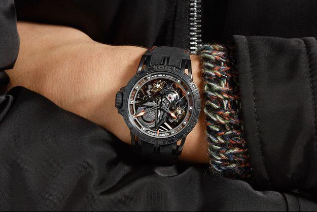 Une montre exclusive «unique en son genre» issue de la célèbre famille Excalibur.