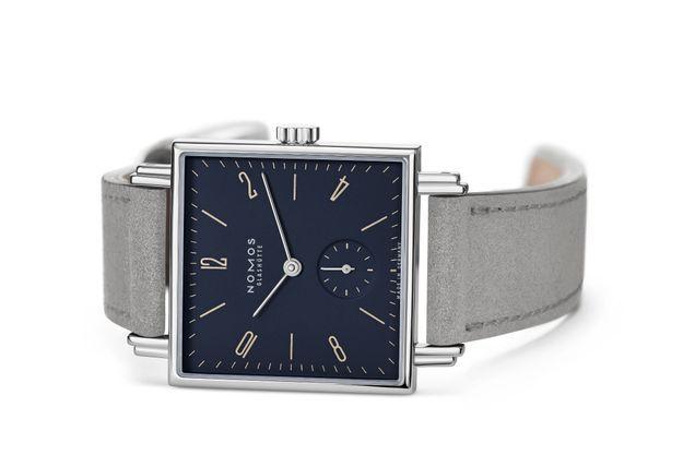 La montre Tetra Fidelio, de la nouvelle série Symphonie de Nomos.