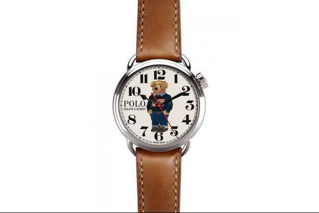 Avec cette collection produite en édition limitée, c'est la première fois que Ralph Lauren dessine des montres spécialement pour sa marque Polo.