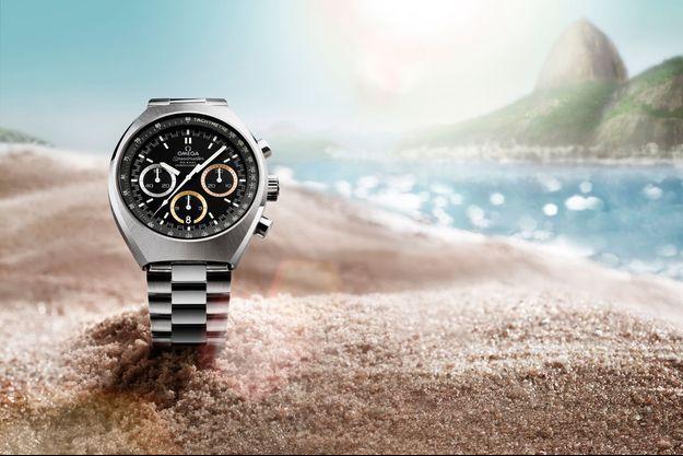 Omega, chronométreur officiel des Jeux olympiques de Rio.