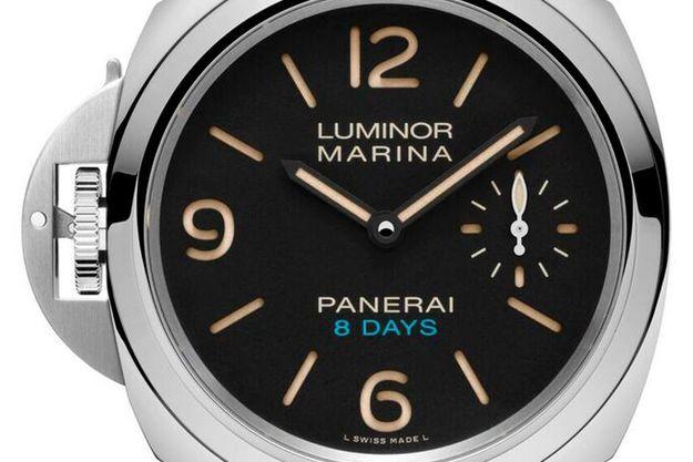 Panerai dévoile une montre pour gaucher