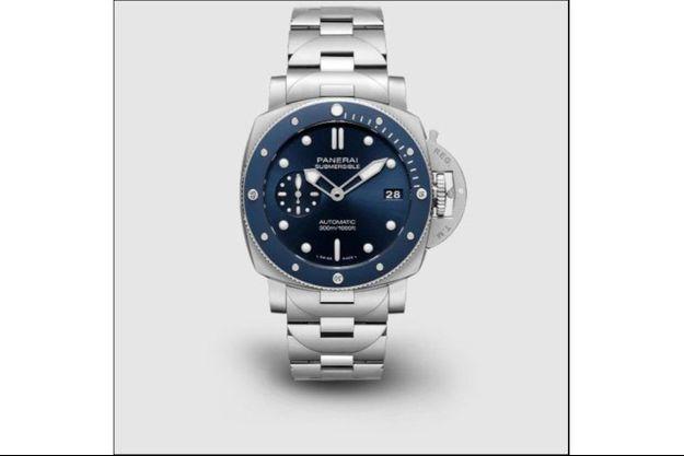 La nouvelle Submersible Blu Notte de Panerai.