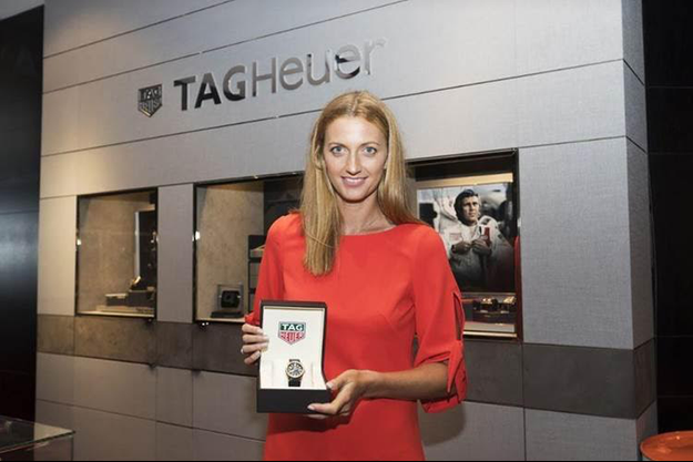 Petra Kvitova rejoint la famille TAG Heuer
