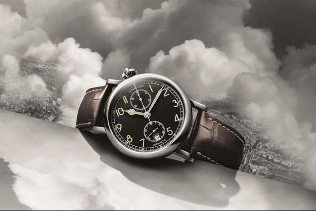 Longines revisite l'une des pièces phares de son patrimoine. Nom de code : The Longines Avigation Watch Type A-7 1935