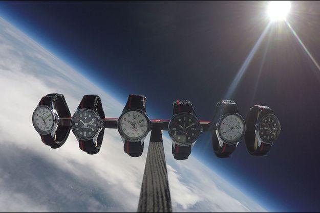 Des montres conçues par le Centre National d'Etudes Spatiales (CNES).