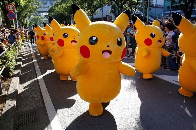 Défilé de Pikachu