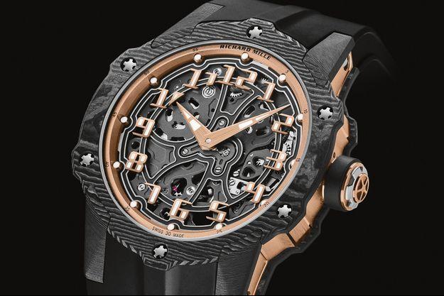 RM 33-02 : une nouvelle version de la montre Richard Mille