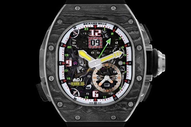La RM 62-01 Tourbillon Alarme Vibrante ACJ de Richard Mille