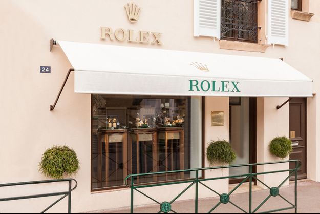 La boutique Rolex à saint-Tropez