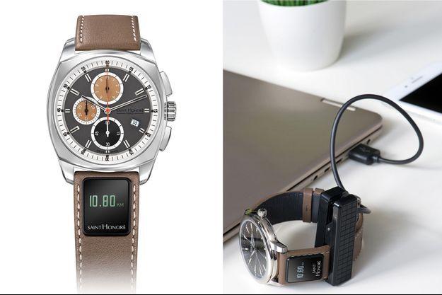 Le bracelet connecté SH Connect.