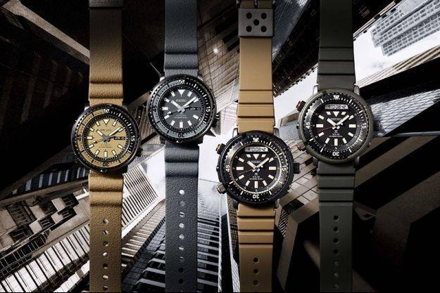 "Seiko : quatre nouvelles montres ""Urban Safari"""