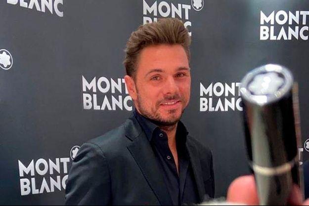 Stan Wawrinka, nouvel ambassadeur de Montblanc
