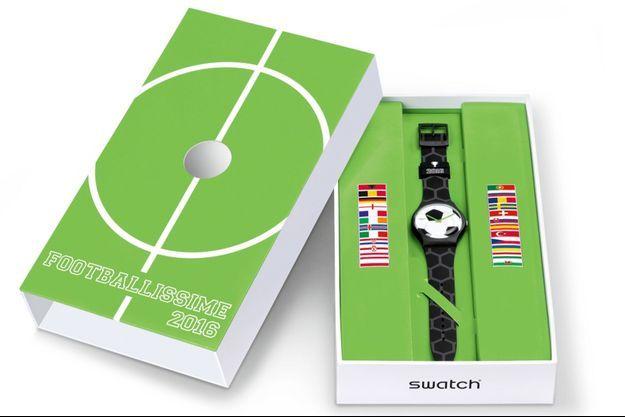 Swatch se met aux couleurs de l'Euro 2016.