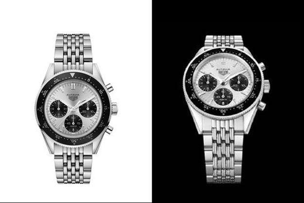 Une édition limitée de l'icône des chronographes Heuer, l'Autavia, en l'honneur des 85 ans de Jack Heuer, le créateur de la montre.