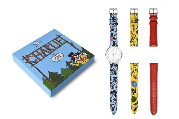 Charlie Watch s'associe avec l'illustratrice française Tiffany Cooper pour un coffret exclusif vendu en édition limitée chez Charlie Watch.