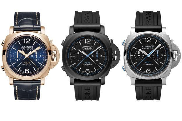 Trois nouveaux chronographes chez Panerai