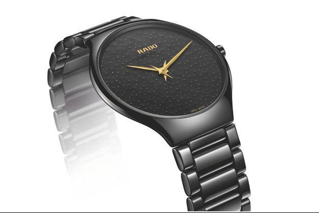 True Thinline : la nouvelle montre en céramique de Rado