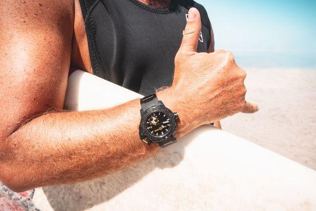 La montre Diver Deep Dive en édition limitée.