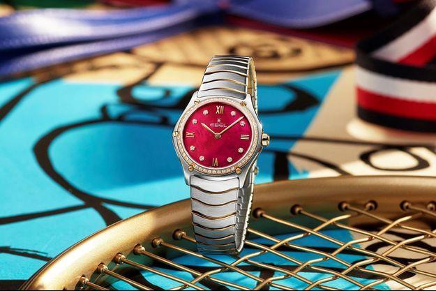 La montre Ebel Sport Classic Lady Retro Red