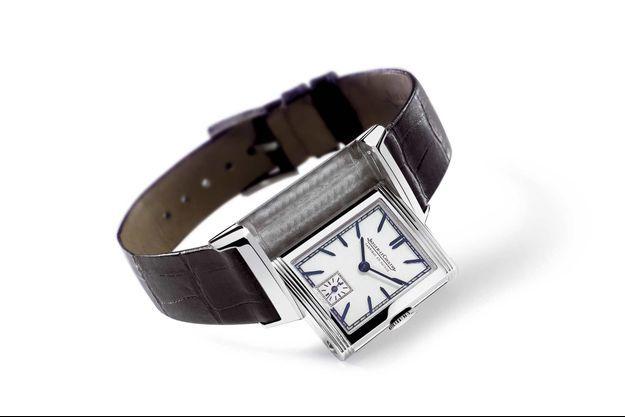 Première version de la montre Reverso de Jaeger-LeCoultre légendaire créée en 1951