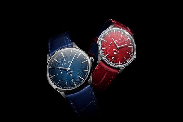 Une paire de montres Elite Moonphase inspirée par les célèbres cigares Romeo Y Julieta