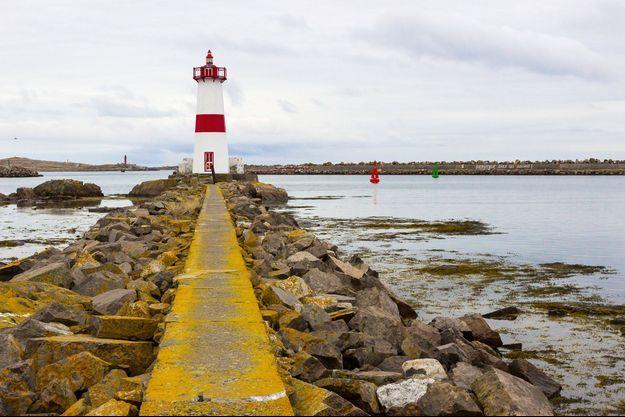 Un phare à Saint Pierre et Miquelon