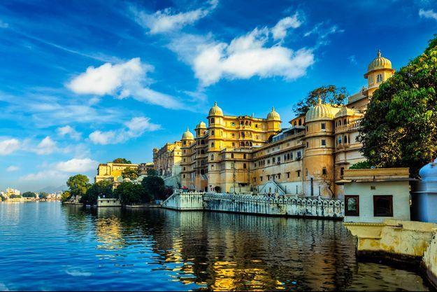 La ville d'Udaipur, en Inde