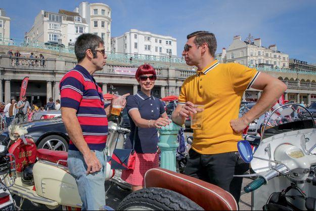 Mods à Brighton