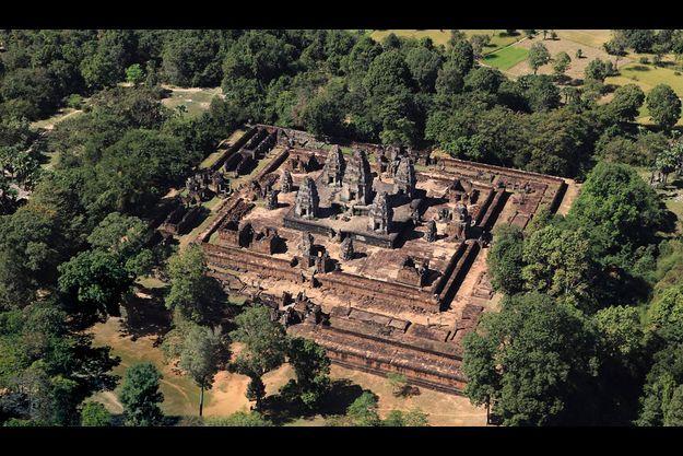 Le Mébon, un temple parmi des centaines dispersés sur l'immense site d'Angkor dans le nord du Cambodge.