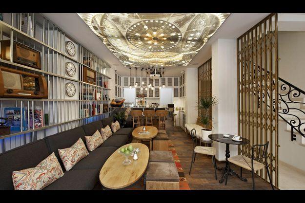 Au cœur d'Istanbul, le #Bunk Hostel, avec salles de bains en marbre, chambres avec terrasse. A partir de 49 euros la nuit en chambre double.