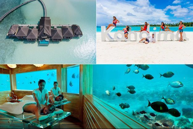 Velarassu, Kandima et Huvafen Funshi, aux Maldives, 3 hôtels pour 3 styles de voyageurs.