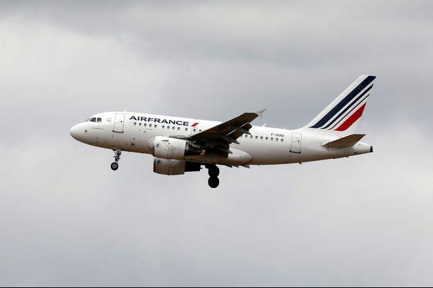 Un Airbus d'Air France (photo d'illustration)